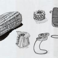 Corn Chair Concept - Pen