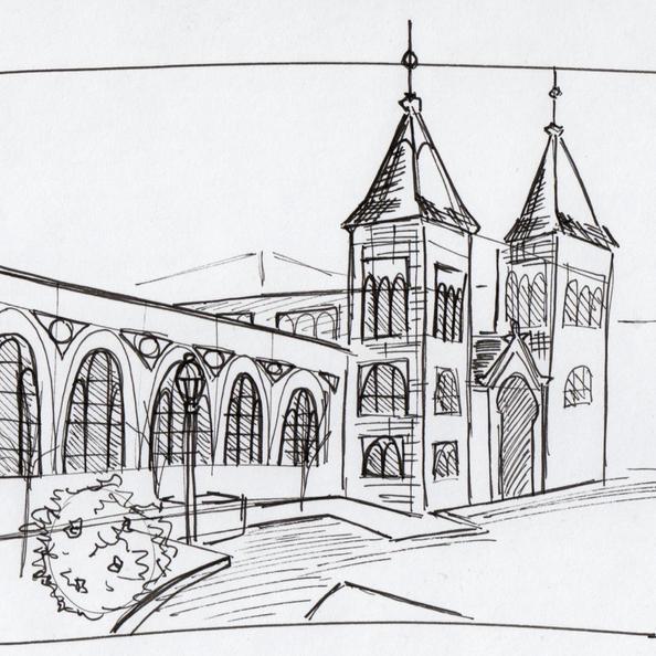 Smithsonian Castle - Pen