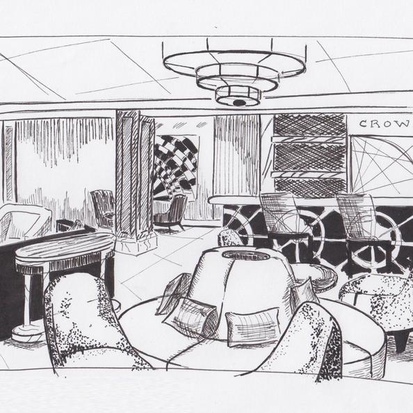 Hotel Lobby - Pen