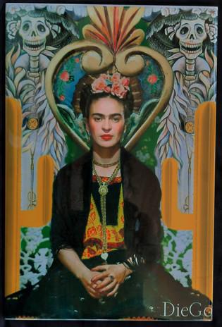 20 € Frida   Céramique sublimée 20/15cm