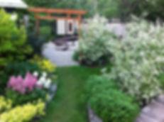 An actual 2015 tour garden
