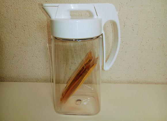 カンタム料理水 |古米が新米のように!水道水を入れて約6時間放置してお料理用の還元水を繰り返し作る鉱石マイナスイオンキット(ネオジウム磁石入りカンタムシート)