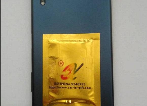 カンタムチップ(大1枚) | マイナスイオンコーティング!携帯電話用鉱石マイナスイオンチップcg00-06