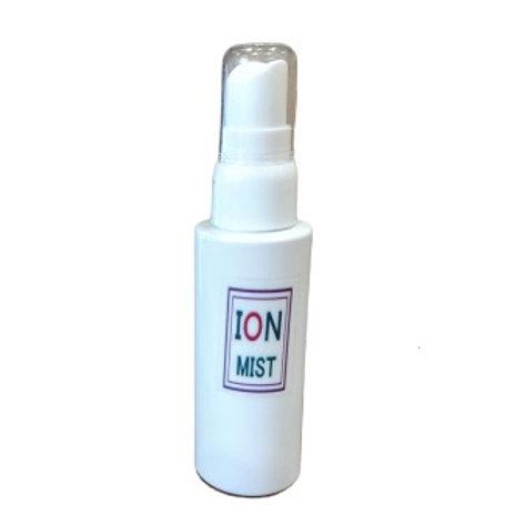 カンタムイオンミスト | 携帯用・熱がこもりやすいマスクに最適な鉱石マイナスイオンスプレー