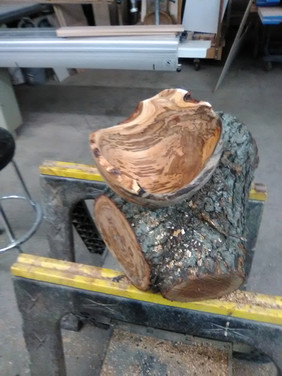 custom wood turned bowls