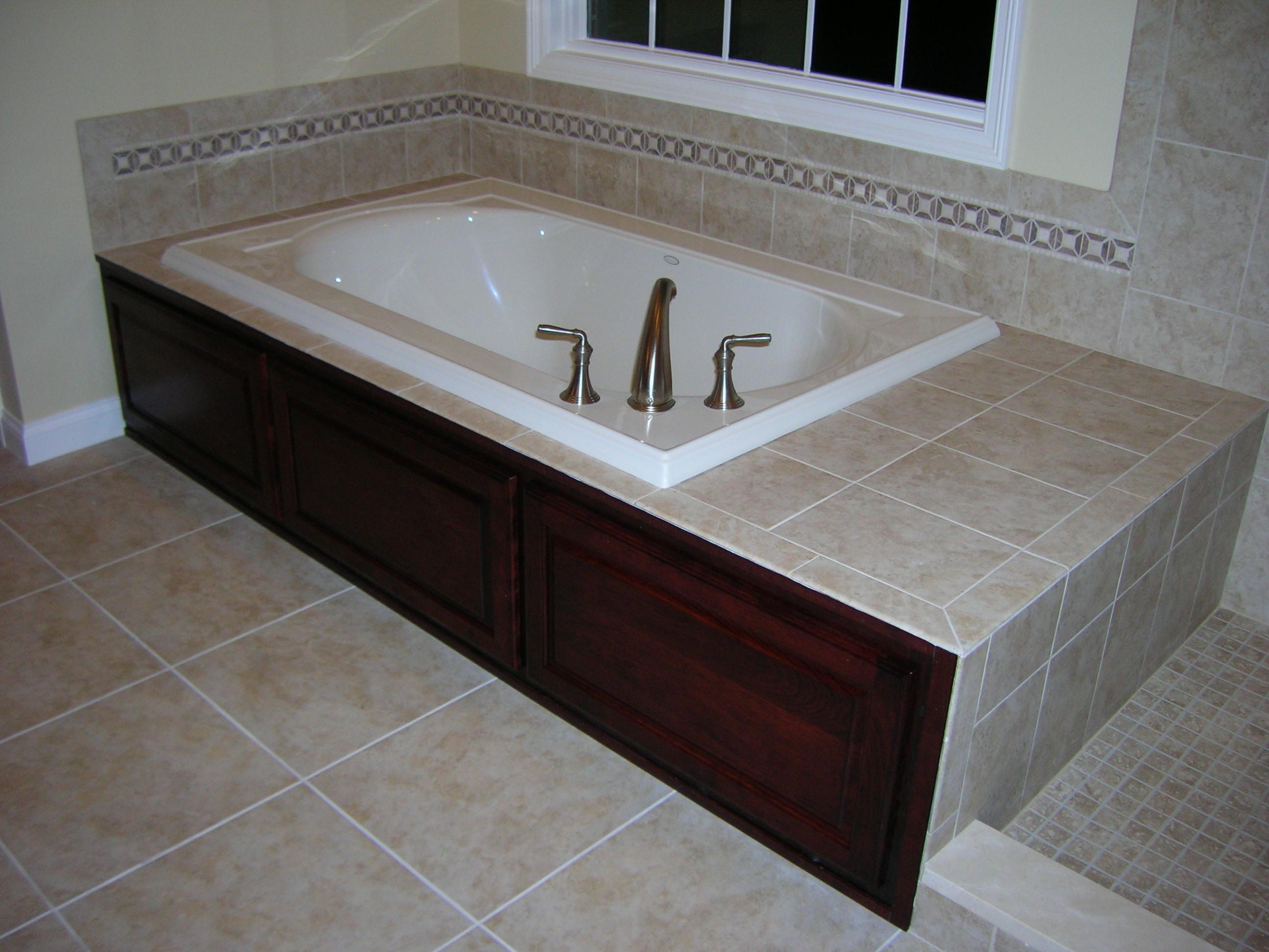 Custom Bathtub Accent Piece