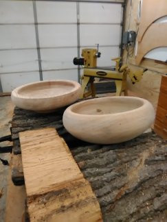 custom wood turned bowls