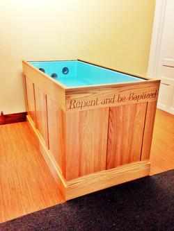Custom Tub For Baptism