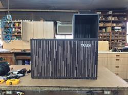 Custom trash bin