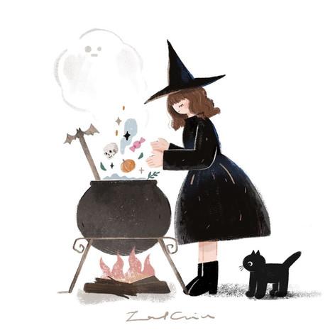 Halloween Sweet Potion
