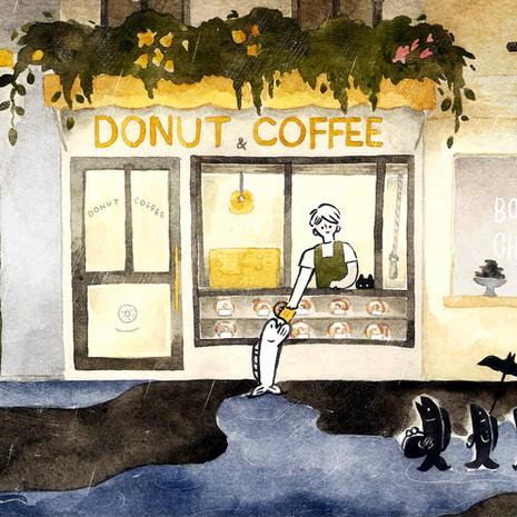 湖畔甜甜圈 Donut & Coffee