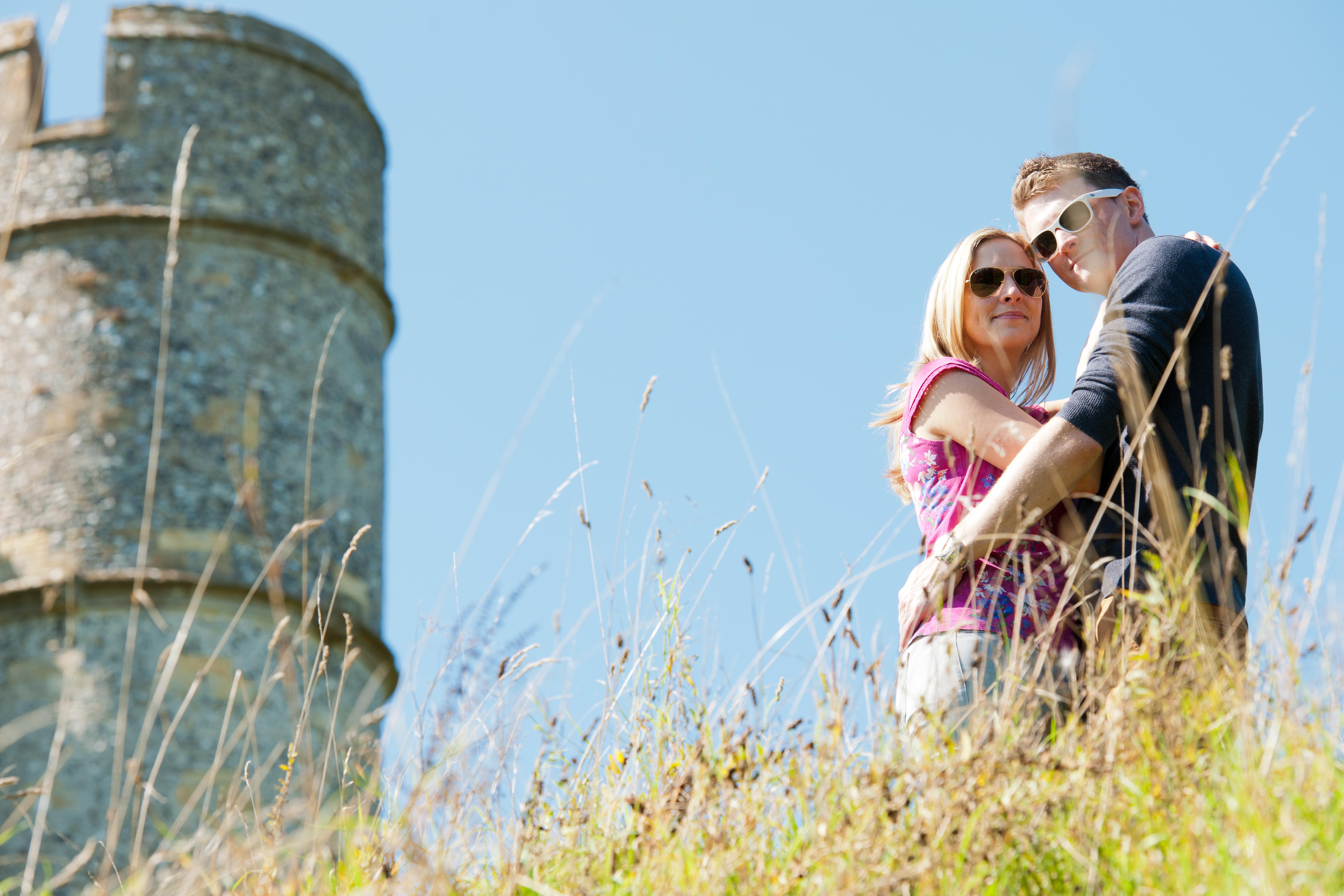 Stephanie & James_Pre Wedding_Donnington Castle_Paul Griffiths Photography-3