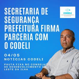 Secretaria de Segurança - Prefeitura firma parceria