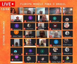SOCIEDADE de Florianópolis unida e pronta para participar pela Lei 10.461/2018
