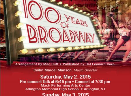 Concert: 100 Years of Broadway!