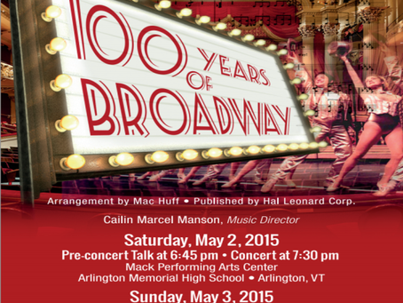 Concert: 100 Years of Broadway!