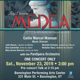 Medea -- Nov 2019