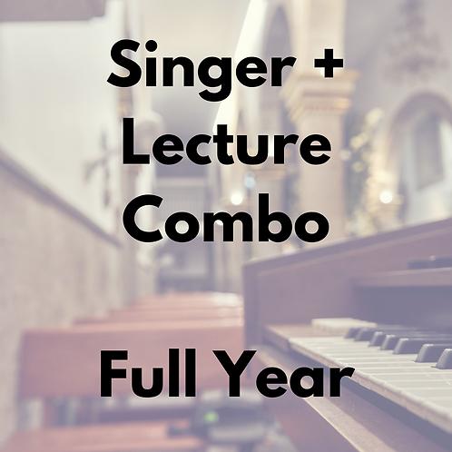 Singer Membership & Lecture Series Combo -- Full Year