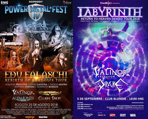 Tour: Colombia & Chile