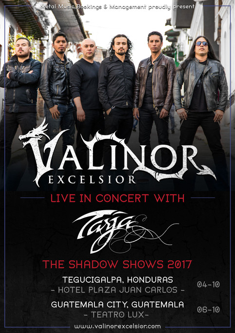 Live with Tarja in Honduras & Guatemala