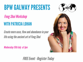 BPW Galway: Feng Shui Online Workshop with Patricia Lohan