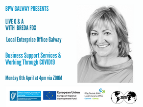 BPW Galway: Business Support Services & Working Through COVID19