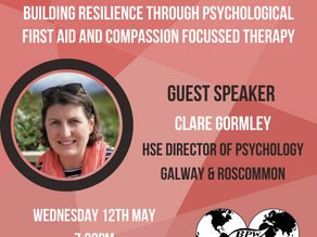 BPW Galway: Building Resilience Through Psychological First Aid & Compassion Focussed Therapy