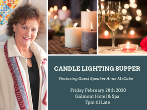 Anne McCabe to Address the BPW Galway Annual Candle Lighting Supper