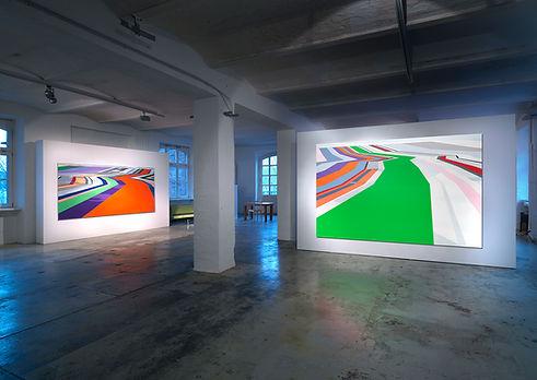Alvar Beyer, Installationview Realace Fine Arts, Berlin 2008