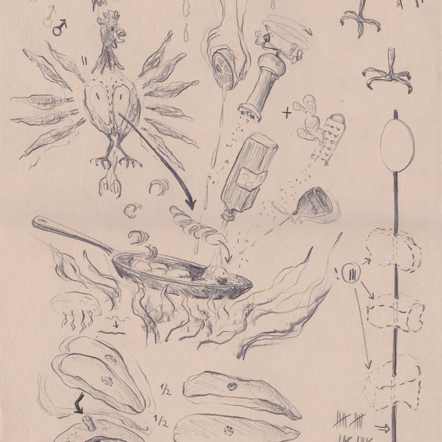 Hähnchenbrustspieß2018_29,7x42cm_Bleisti