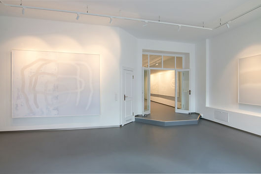 Udo Nöger, Installationview 'Light as a material' at hilleckes probst galerie, Berlin 2020
