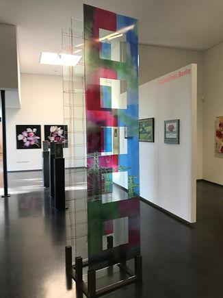 Strom, 2011, c-print, Glas, Stahl, 240 x