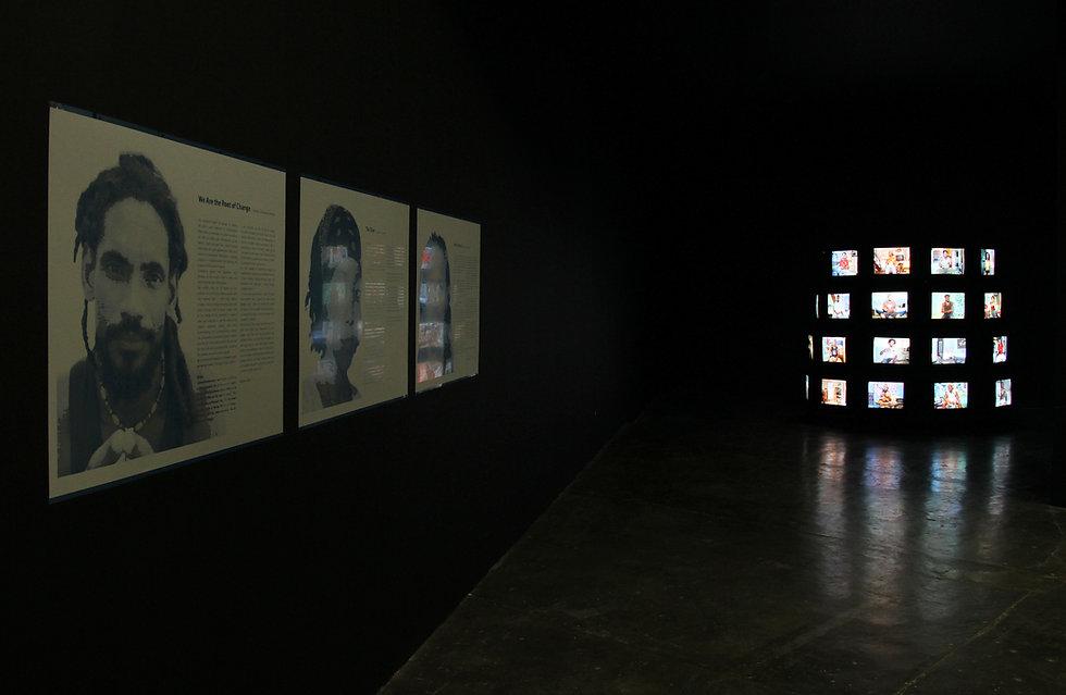 Yoel Diaz Vazquez, Installationview 'Ruido' Biennale Sao Paulo, 2010