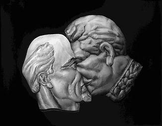 Deadly kiss II (Lenin-Stalin) triptych 7