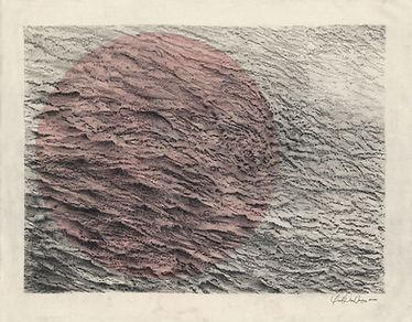 Yoel Diaz Vazquez, Seestück 3, 2020, graphite, acrylic on canvas, 60 x 80 cm