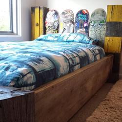 Skateboard Bed