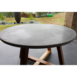 Concrete and Timber Round Table