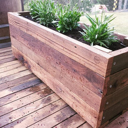 Instagram - Grummie outdoors range, recycled timber planter boxes available in 6