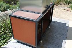 Custom Corten Pizza Oven Base
