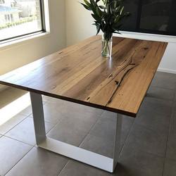 Hoop Leg Dining Table