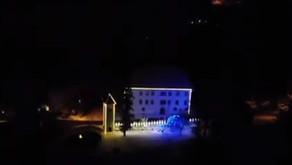 Prižig lučk v Polhovem Gradcu