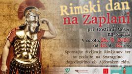Rimski dan na Zaplani - DOGODEK ODPOVEDAN, POHOD BO!