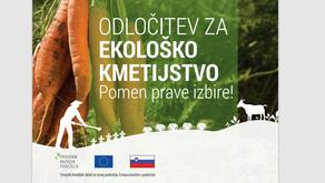 Odločitev za ekološko kmetijstvo - pomen prave izbire