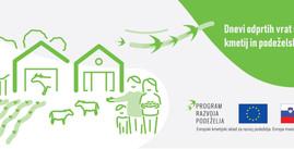 Dnevi odprtih vrat slovenskih kmetij in podeželskih projektov