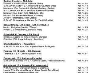 XIII. Trakehner Fohlenchampionat in Graditz am 27.08.2016 - mit 47 Fohlen präsentiert sich wieder ei