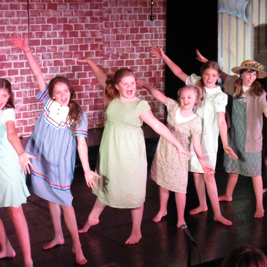 The orphans hear the radio announcement