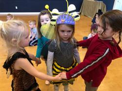 Pretending to guard the Queen Bee