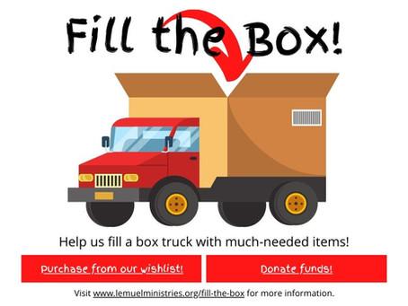 Help us Fill the Box!