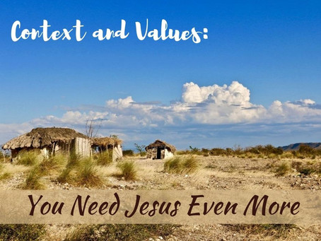 You need Jesus even more than that.