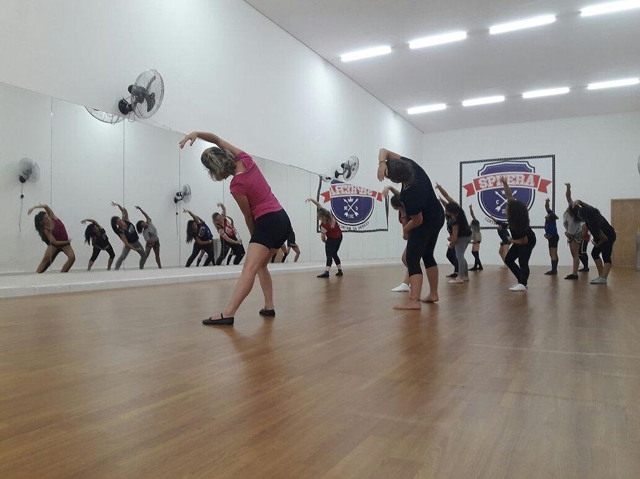 Sala de Aula de Dança do Sphera Centro de Movimento